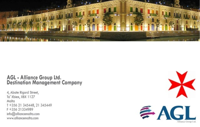 AGL Alliance Group is a professional and reputable Destination Management Company that has been in operation since 1988. T...