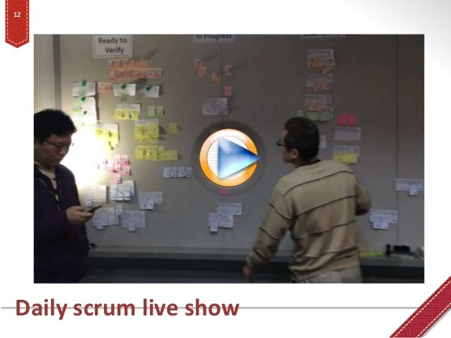 Daily scrum live show 12