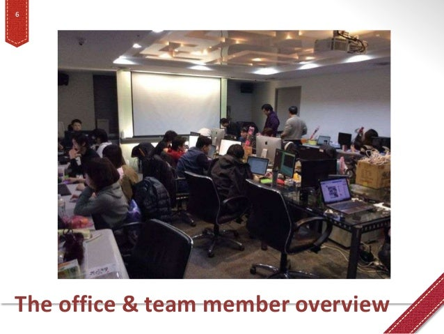 The office & team member overview 6