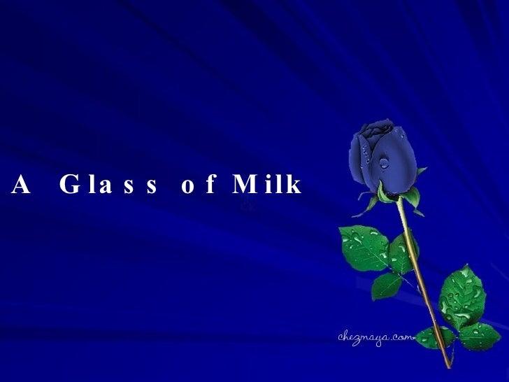A Glass Of Milk - 웹