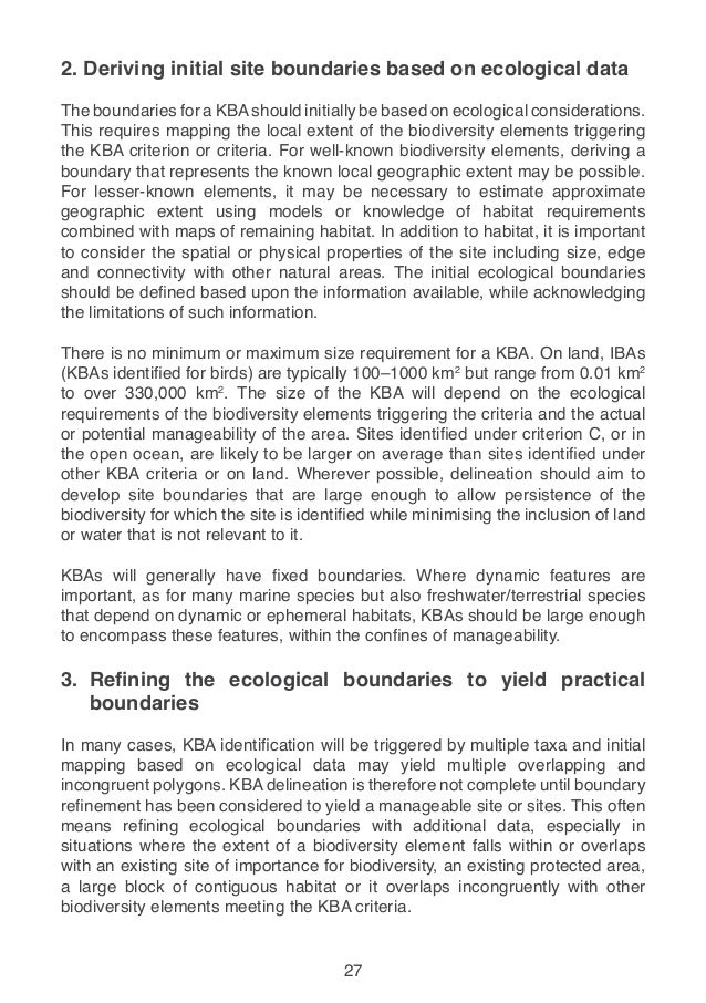 A Global Standard For The Identification Of Key Biodiversity Areas Fi 34.  What Is A Critical Thinking Essay