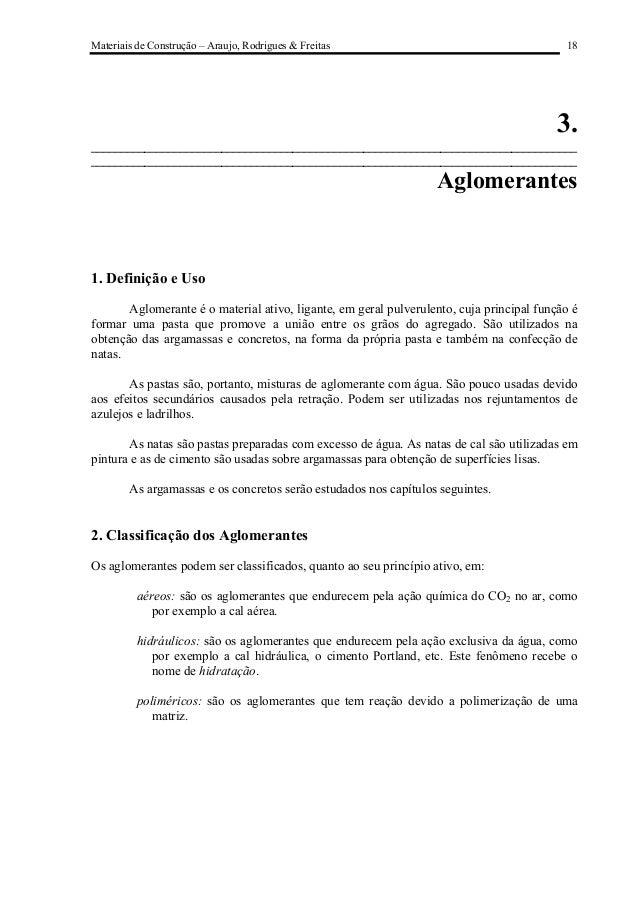 Materiais de Construção – Araujo, Rodrigues & Freitas                                      18                             ...