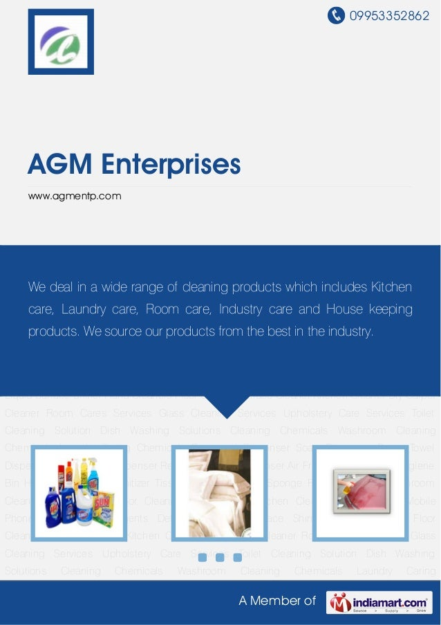 09953352862A Member ofAGM Enterpriseswww.agmentp.comCleaning Detergents Detergent Liquid Surface Shiner Hand Cleaners Floo...