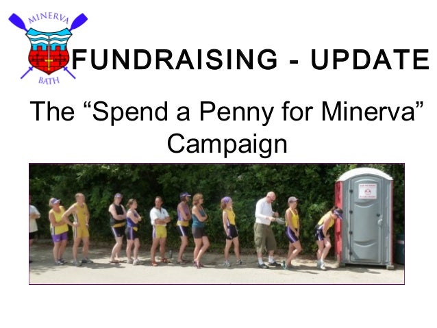 """FUNDRAISING - UPDATE The """"Spend a Penny for Minerva"""" Campaign"""