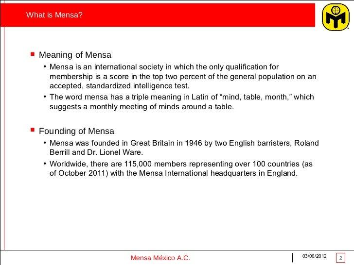 Social benefits_Mensa International Slide 2
