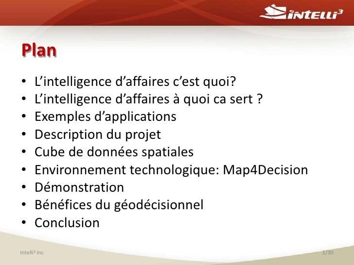 Les bénéfices des solutions géodécisionnelles pour l'analyse des infrastructures municipales Slide 2