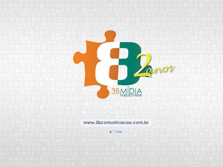 Agência 3BA 3B é uma agência que faz parte de uma nova forma detrabalho, com uma visão que faz transformar pequenas ideias...