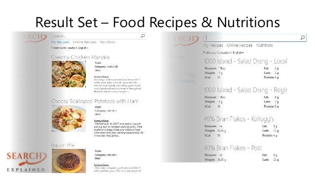 Machine Learning Food Recipes