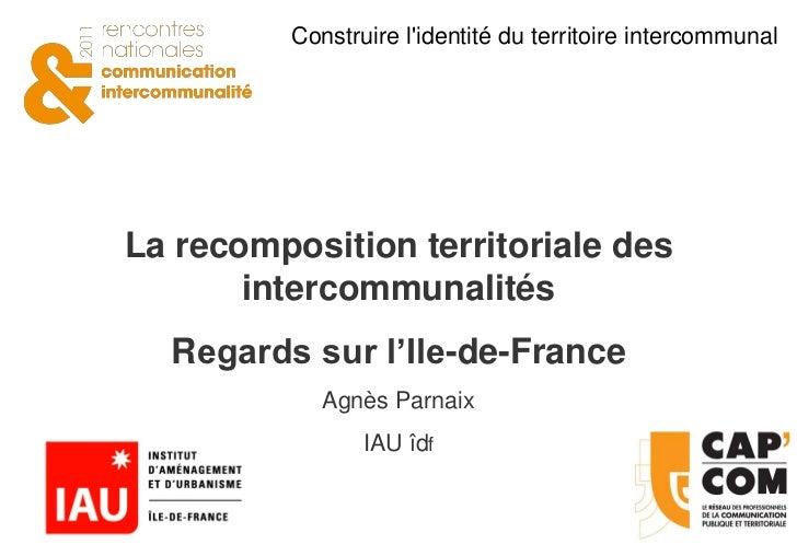 LE RÉSEAU DES PROFESSIONNELS DE LA COMMUNICATION PUBLIQUE ET TERRITORIALE                                Construire lident...