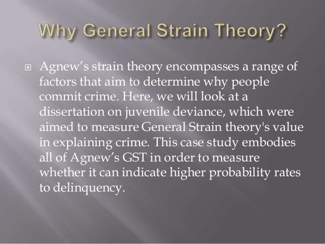 general strain theory