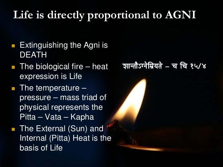 Chikitsa Interpretation of Agni Slide 3
