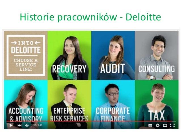 Historie pracowników - Deloitte