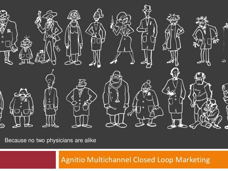 Because no two physicians are alike                     Agnitio Multichannel Closed Loop Marketing