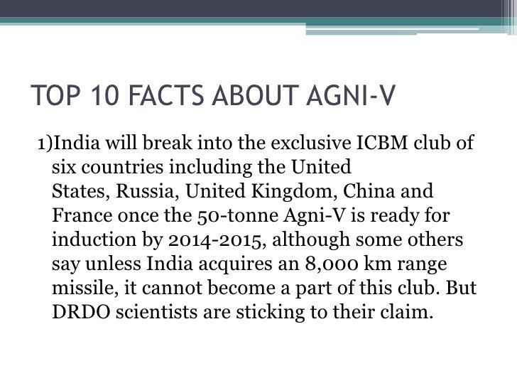 Agni V Slide 3