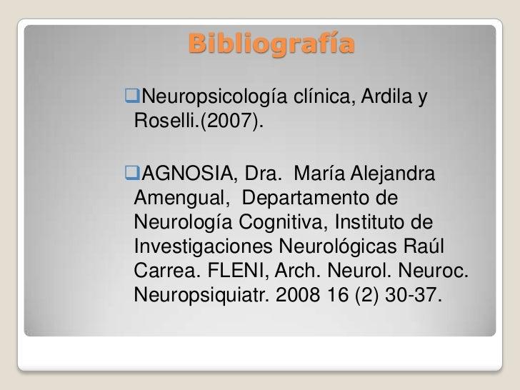 Neuropsicologia clinica alfredo ardila
