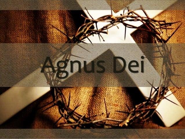 aleluia agnus day