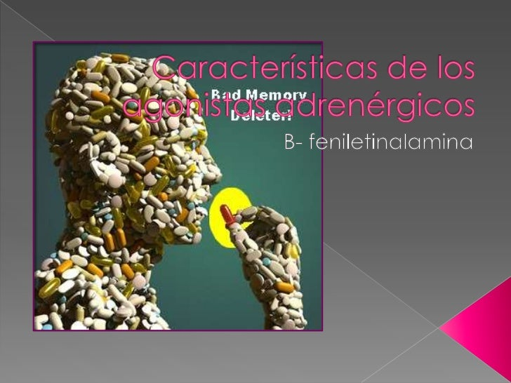 Características de los agonistas adrenérgicos<br />Β- feniletinalamina<br />