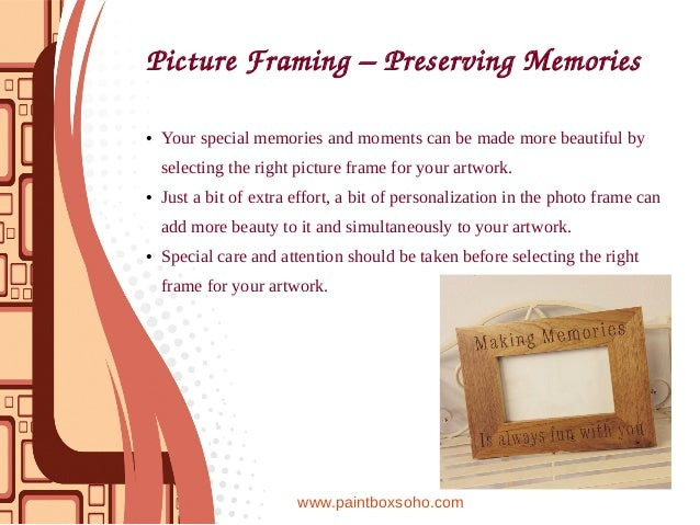 Picture Framing Gaining More Eyeballs With Amazing Frames