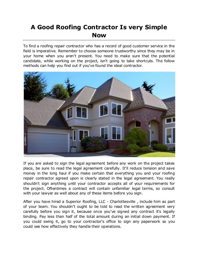 Roofing Repair Tips: How To Choose A Good Roofing Company