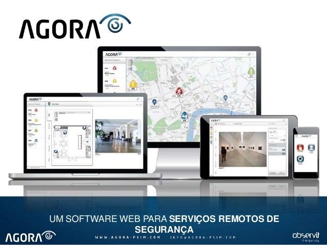 UM SOFTWARE WEB PARA SERVIÇOS REMOTOS DE SEGURANÇA