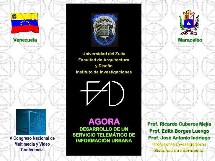 <ul><li>Universidad del Zulia </li></ul><ul><li>Facultad de Arquitectura </li></ul><ul><li>y Diseño </li></ul><ul><li>Inst...