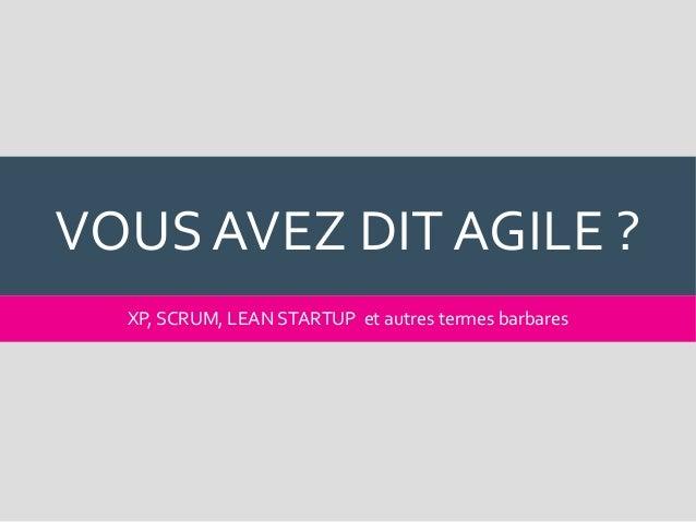 Agora CMS 2016 : Le choix d'un CMS dans un contexte agile Slide 3