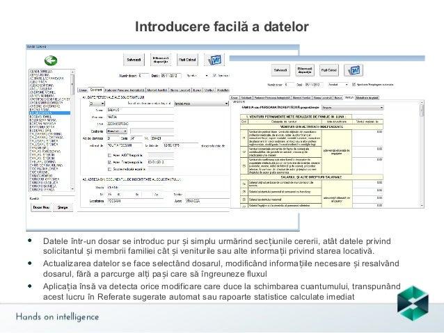 Operații asupra dosarelor  Din acest submeniu se poate schimba titularul dosarul, suspenda și înceta un dosar, respectiv r...