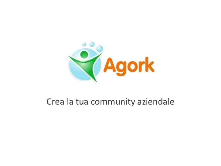 Crea la tua community aziendale