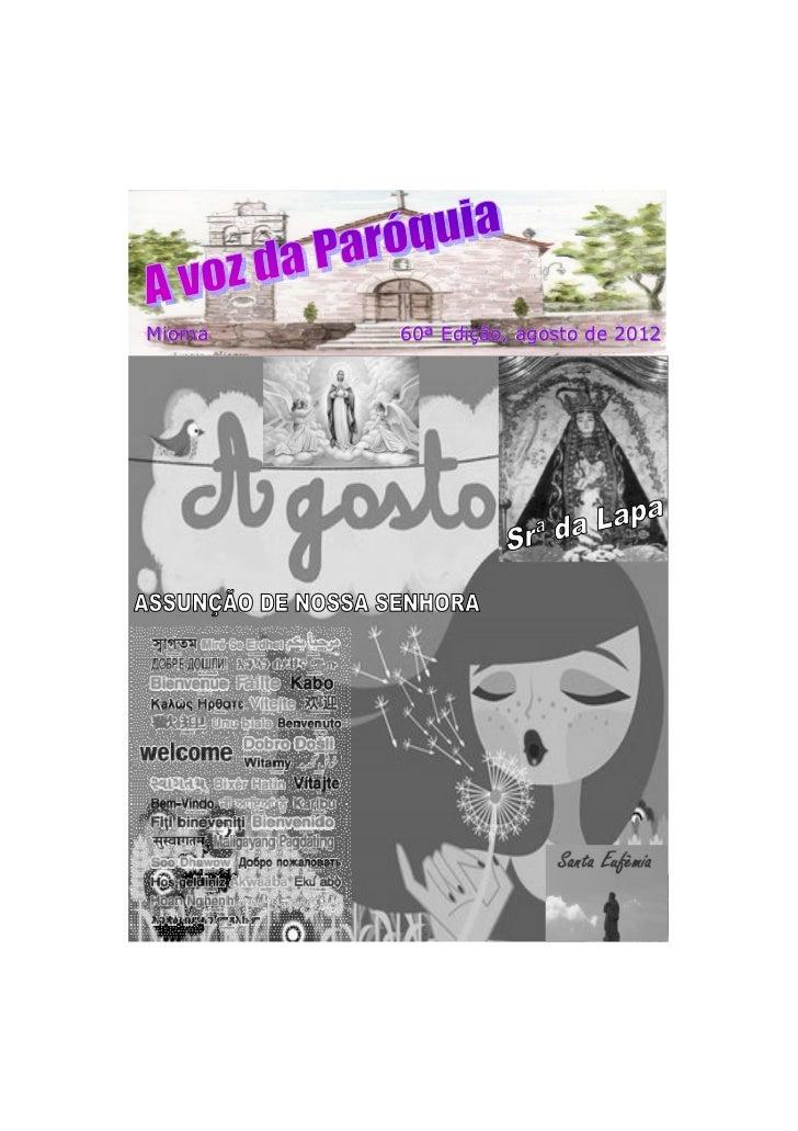 Mioma   60ª Edição, agosto de 2012