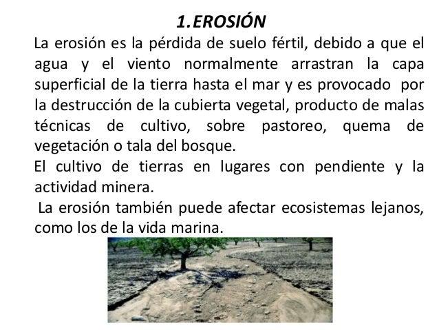 Agotamiento de los suelos y recursos - Suelos que se pegan ...