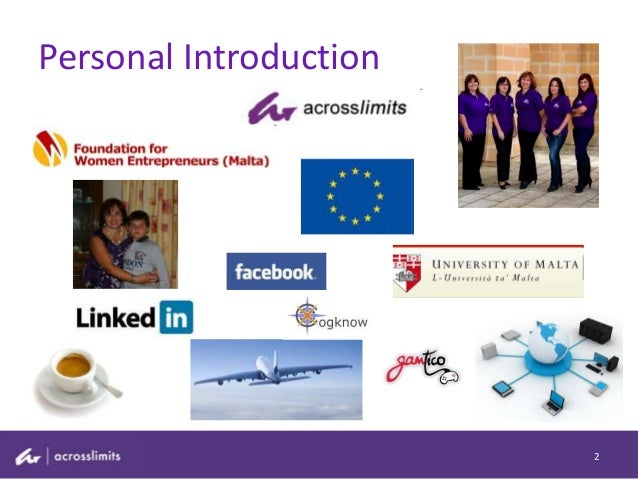 Personal Introduction 2