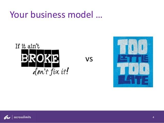 Your business model … 4 vs