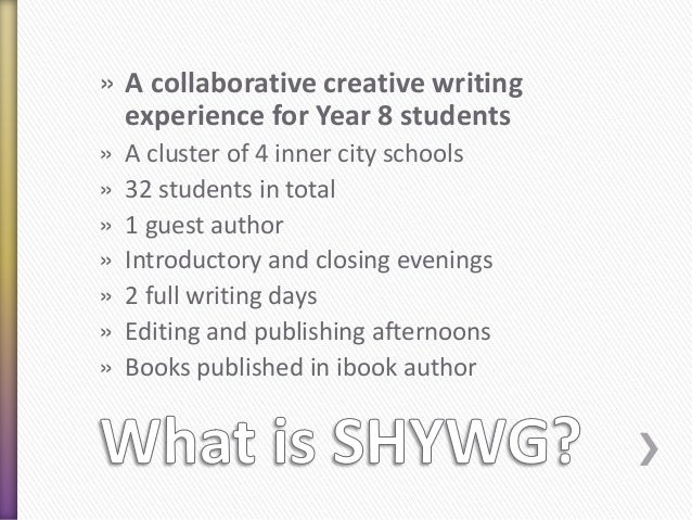 Collaborative Student Experience ~ Collaborative writing agqtp