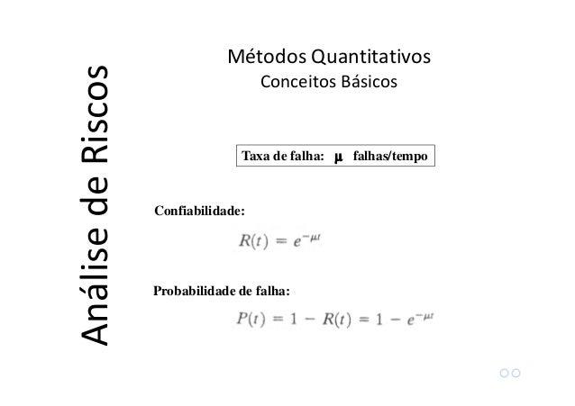"""Equipamentos """"em série"""" causam falhas do tipo """"ou"""" :Equipamentos """"em série"""" causam falhas do tipo """"ou"""" : Métodos Quantitat..."""