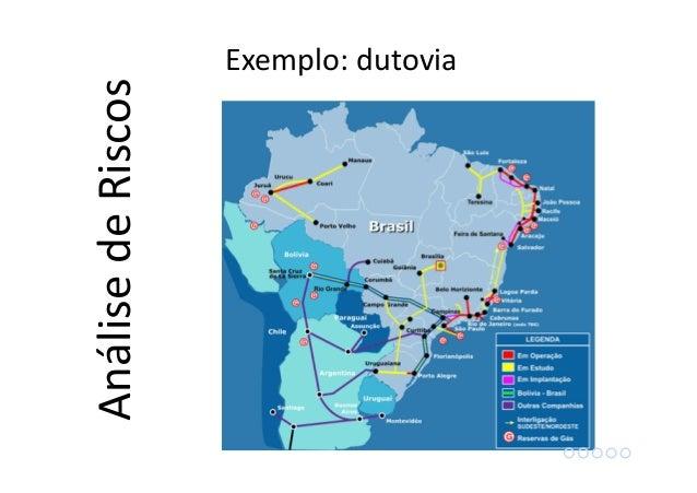 Exemplo: dutovia AnálisedeRiscos