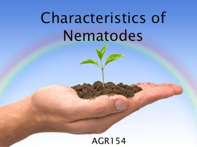 Characteristics of Nematodes AGR154