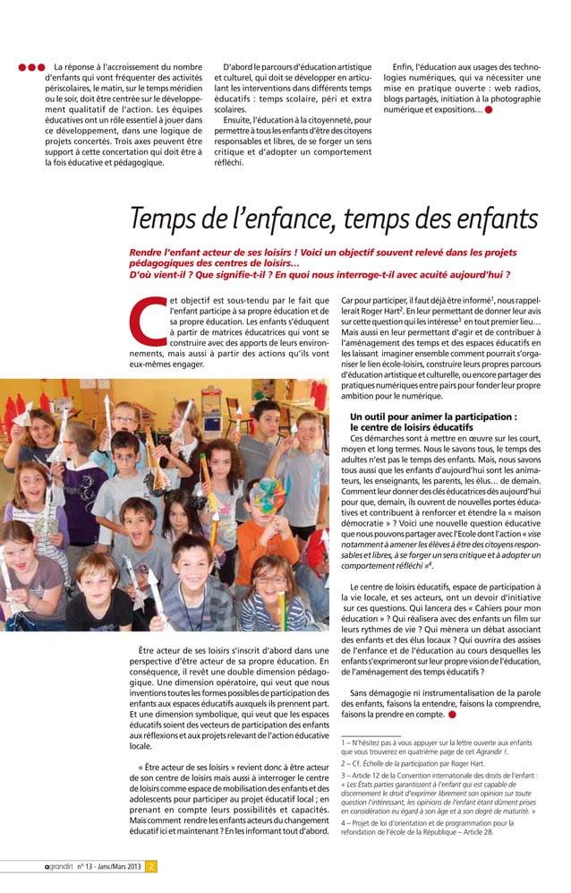 La réponse à l'accroissement du nombre              Dabord le parcours d'éducation artistique          Enfin, léducation a...