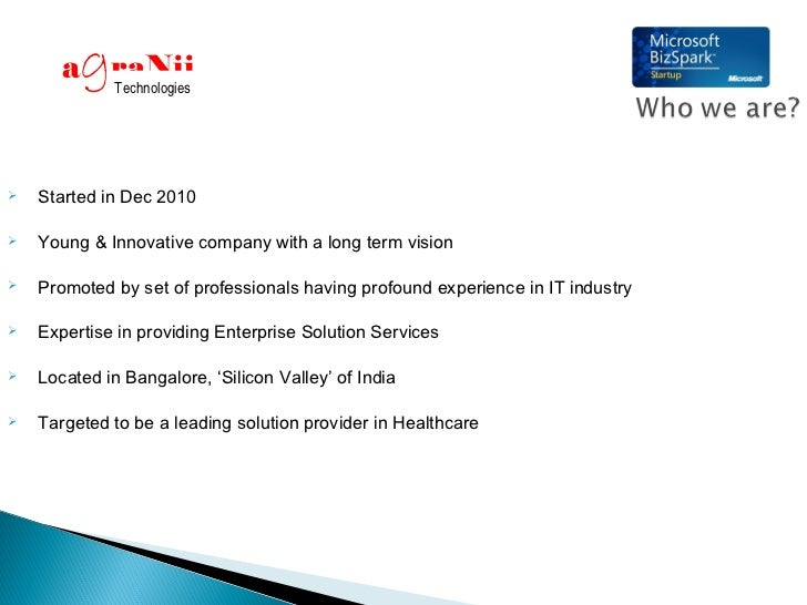 g       a raNii              Technologies   Started in Dec 2010   Young & Innovative company with a long term vision   ...