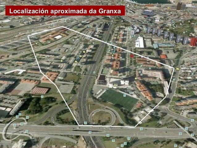 Localización aproximada da Granxa Imaxe actual