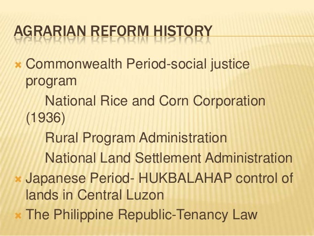 issues on agrarian reform in the philippines