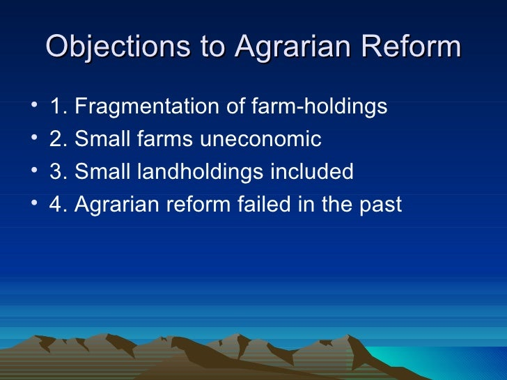 issues on agrarian reform in the philippines Follow up issues about agrarian reform by balita | march the land bank of the philippines as to the issue of compensation as other option of your.
