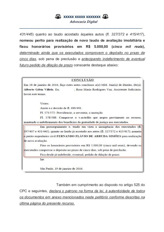 Artigo 407 cpc
