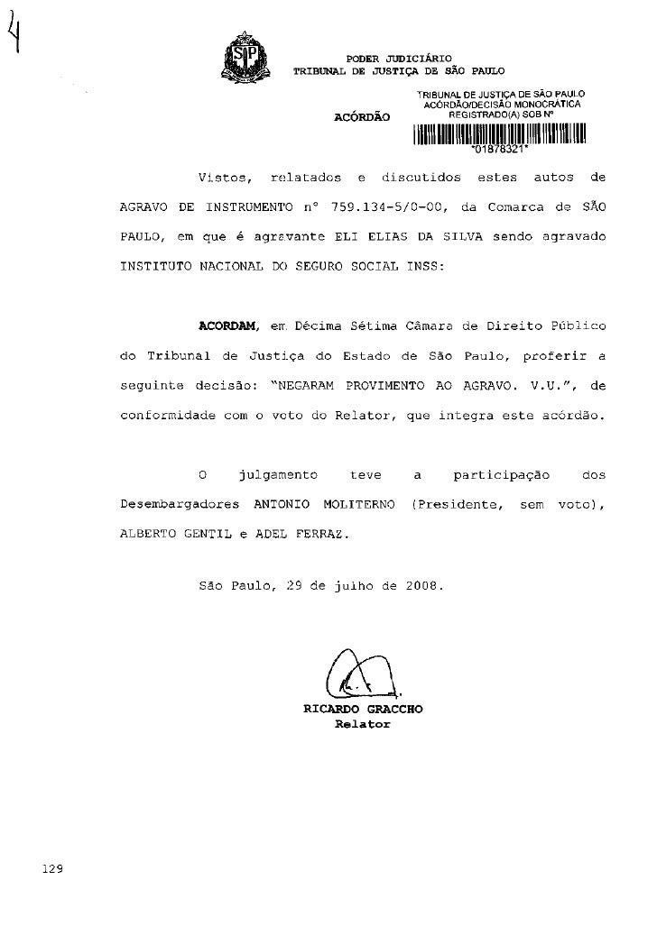 PODER JUDICIÁRIO                         TRIBUNAL DE JUSTIÇA DE SÃO PAULO                                               TR...