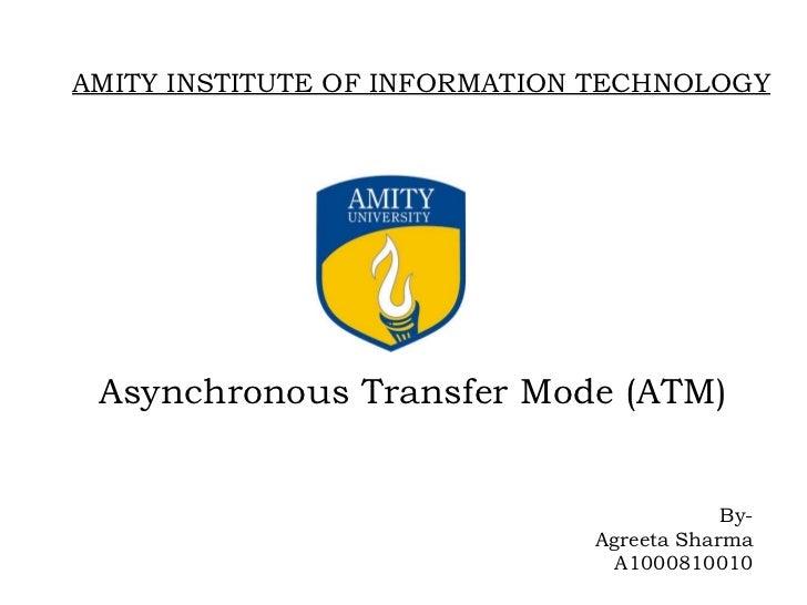 Asynchronous Transfer Mode - PowerPoint PPT Presentation