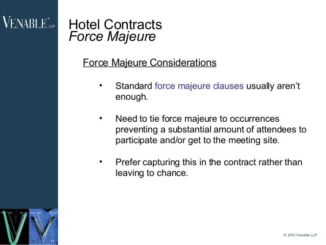 force majeure in construction contracts essay Force majeure and impossibility of performance take-or-pay contracts: are force majeure and commercial rules of construction for contracts.
