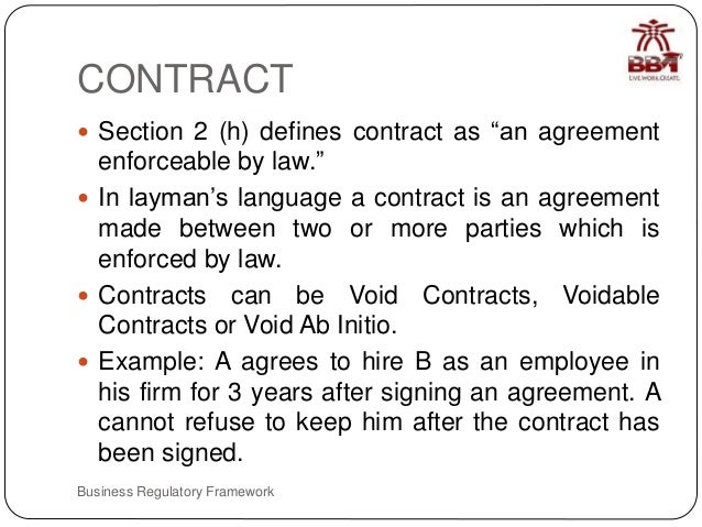 Agreement Contract and Section 10 – Business Contract Between Two Parties