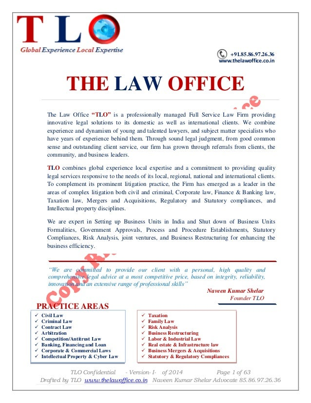 Agreement For Business Franchise By The Law Office
