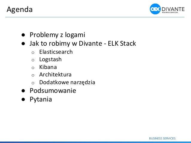 Agregacja i analiza logów Slide 2