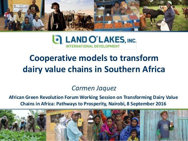 African Green Revolution Forum Working Session on Transforming Dairy Value Chains in Africa: Pathways to Prosperity, Nairo...