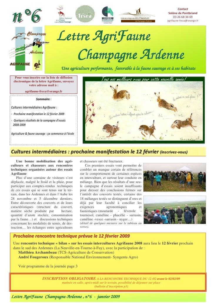 Agrifaune 2009
